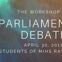 Workshop-Parliamentary Debates