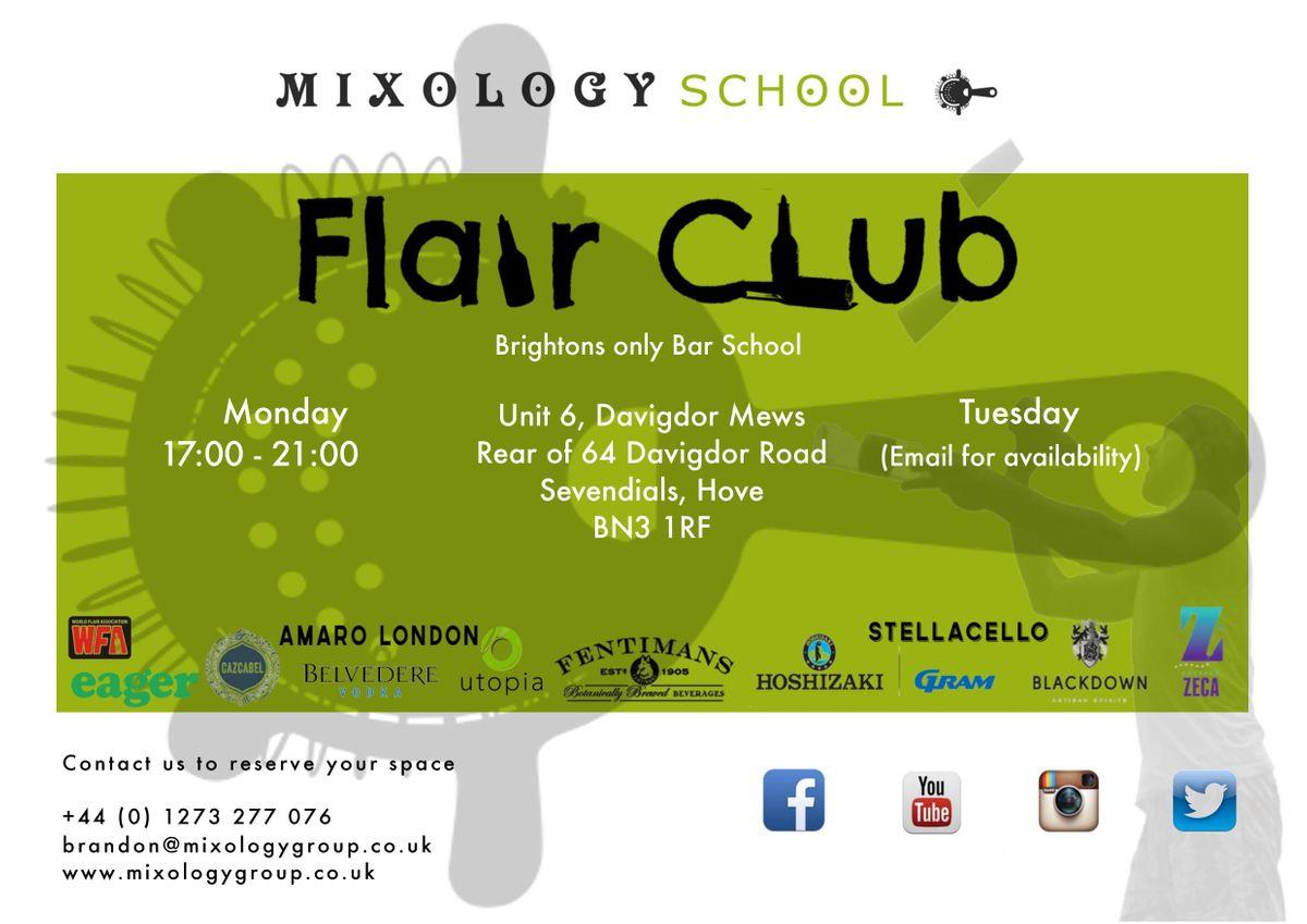 Flair Club At Mixology Group Hove