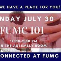 FUMC 101 Class
