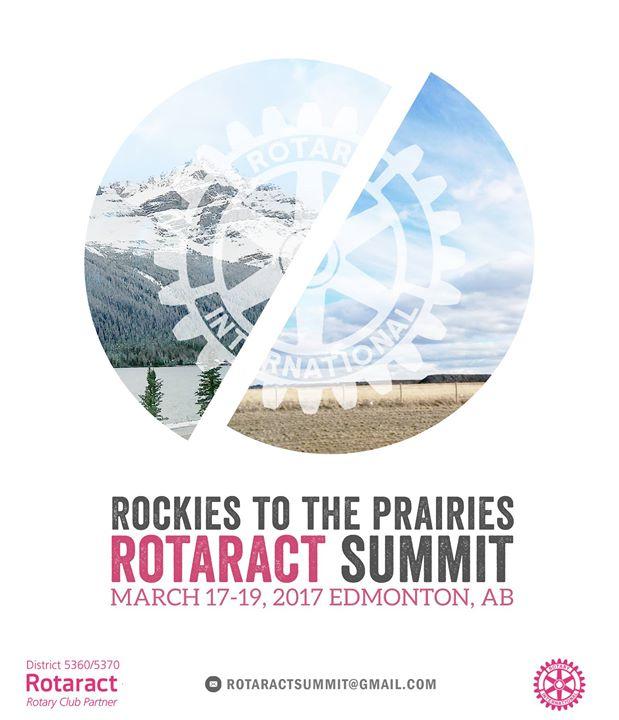 Art Ucalgary Calendar : Rockies to the prairies rotaract summit at acsa alberta