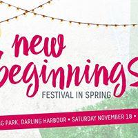 New Beginnings Festival in Spring