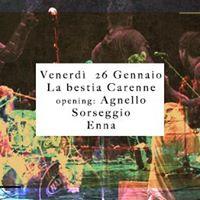La bestia Carenne  Agnello live Sorseggio (EN)