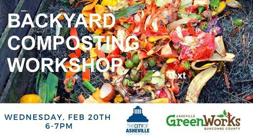 Free Composting Workshop Feb 20th 2019