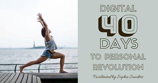 Digital 40 days to Personal Revolution