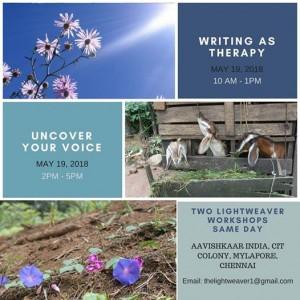 Lightweaver Short Writing Workshops (CHENNAI)