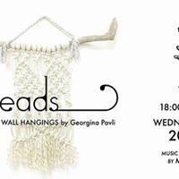 Threads exhibition by Georgina Pavli