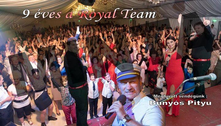 Royal Team 9 szlinapi party