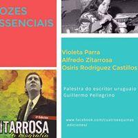 Palestra &quotVozes essenciais&quot com Guillermo Pellegrino (Uruguai)