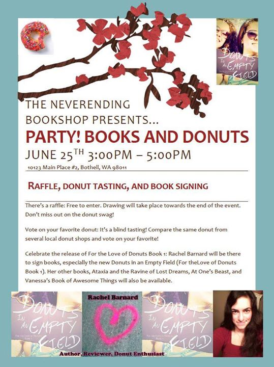 Author Event at Neverending Bookshop with Donuts
