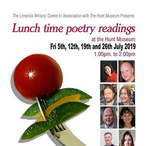 Lunchtime Poetry at The Hunt Museum July 2019