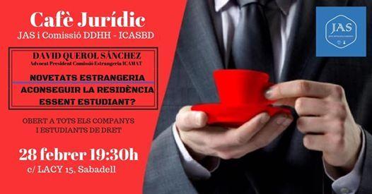 Caf Jurdic JAS novetats ESTRANGERIA