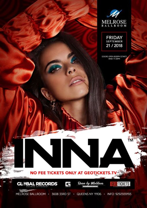INNA (Live Concert) in NYC