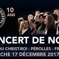 Concert de Nol 2017 - Fri-Gospel Singers 10 ans dj