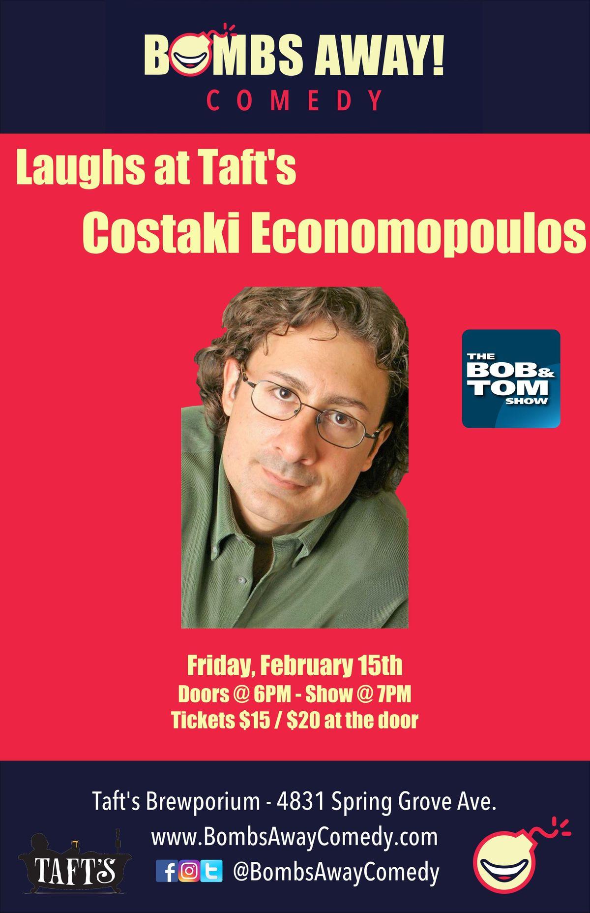 Laughs at Tafts w Costaki Economopoulos