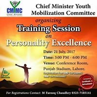 Training Session on &quotPersonality Excellence&quot