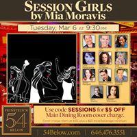 Session Girls a new musical at Feinsteins 54 Below