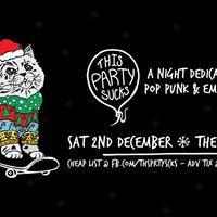 GUEST LIST This Party Sucks - Pop Punk &amp Emo Night