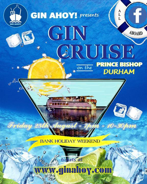 Gin Cruise In Durham Bank Holiday Weekend At Prince Bishop River