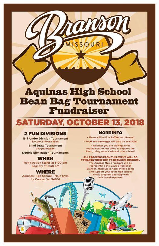 Aquinas Music Department Fundraiser Cornhole Tournament at Aquinas
