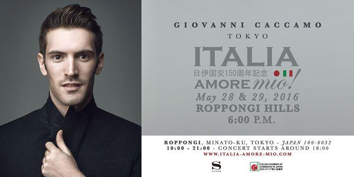 Giovanni Caccamo - Italia Amore mio - TOKYO