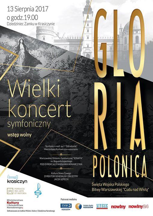 Wielki Koncert Symfoniczny - Gloria Polonica -Krasiczyn 2017