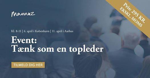 Aarhus Tnk som en topleder