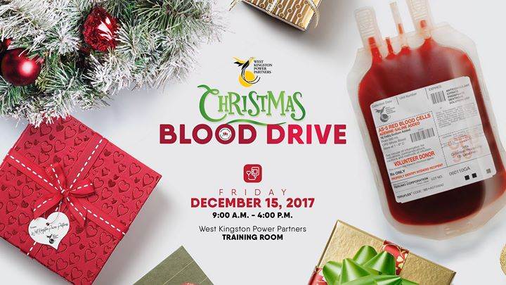 Christmas Blood Drive.Wkpp Christmas Blood Drive At West Kingston Power Partners