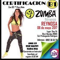 Certificacin Instructor de Zumba B1 en Reynosa