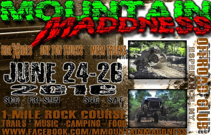 Mountain Madness 2016 At 240 Lape Rd Esperance Ny 12066
