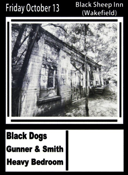 Black Dogs Gunner & Smith Heavy Bedroom