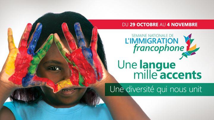 Semaine nationale de limmigration francophone