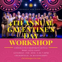 4th Annual Galentines Day Workshop