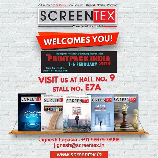 PRINT PACK INDIA 2019 at India Expo Centre and Mart, GreaterNear