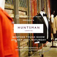 Colony Clothing presents &quotHuntsman&quot Bespoke trunk show
