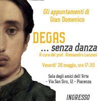 Degas senza danza