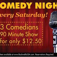 Comedy Night - Daniel Tirado Joe Currie Craig Fox