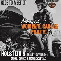 Advanced Womens Garage Party