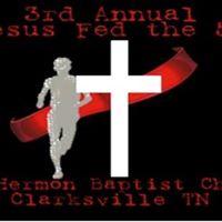 3rd Annual Jesus Fed the 5k RunWalk