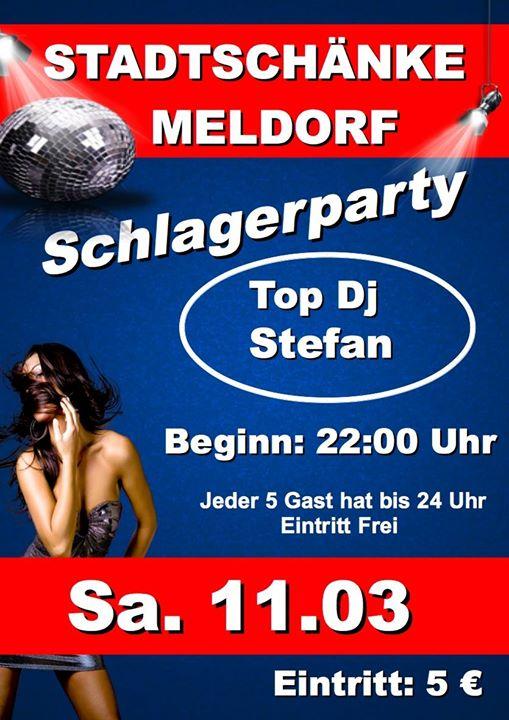 Schlagerparty at Stadtschänke, Meldorf