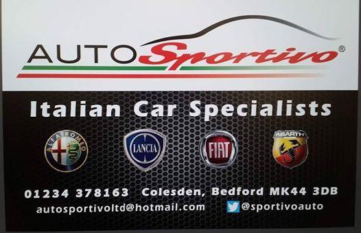 Italian car meet and convoy