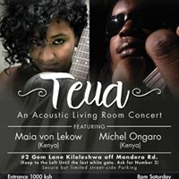 TEUA an Acoustic Living Room Concert featuring Maia &amp Michel