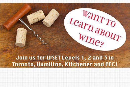 WSET Level 2 Award in Wines and Spirits - Kitchener