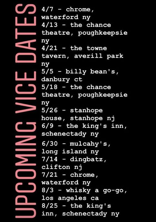 VICE DIVE ON IN US TOUR-Chrome-Waterford NY