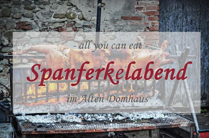 All you can eat Spanferkelabend im Alten Domhaus at Domholzschänke ...