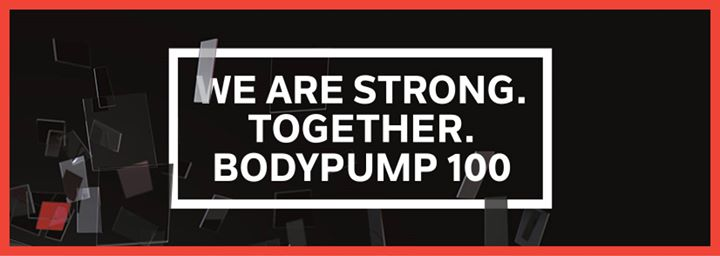Save the Date for Bodypump 100