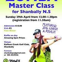 Zumba MC for Shanbally School