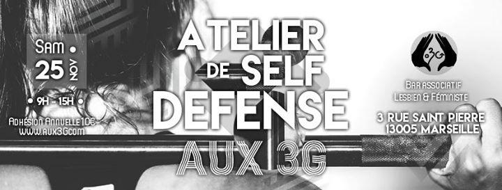 Atelier Self Dfense AUX3G