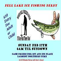 Pell Lake Ice Fishing Derby