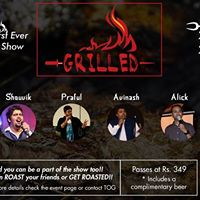 Grilled - Hyderabads First Ever Roast Comedy Special