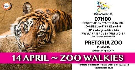 Trailadventure Zoo Walkies 10 & 5km